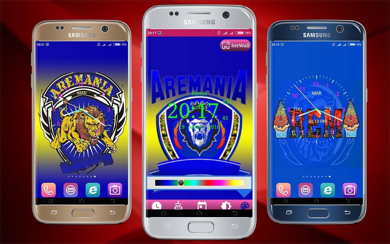 Aremania Wallpaper Clock Live 1 3 APK Download Android