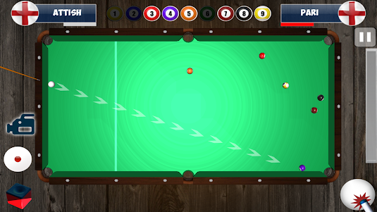 9 Ball Pool 3D Snooker 1.4 screenshot 3