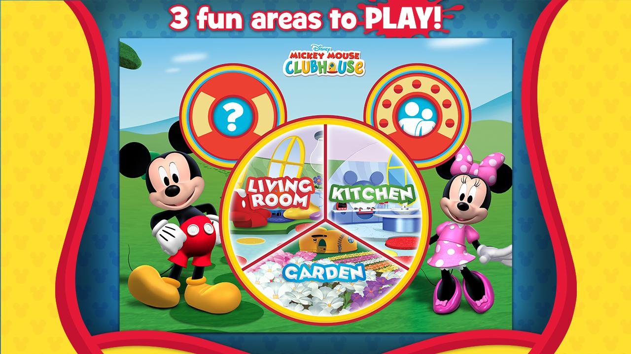 Mickeys Color And Play