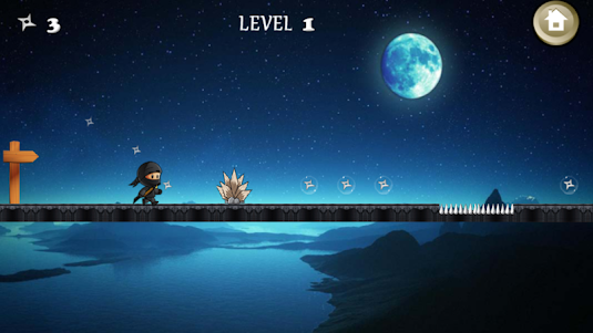 Free Ninja Go Adventure 2.1 screenshot 2