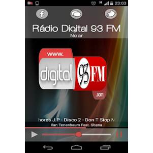 Rádio Digital 93 FM 1.0 screenshot 1