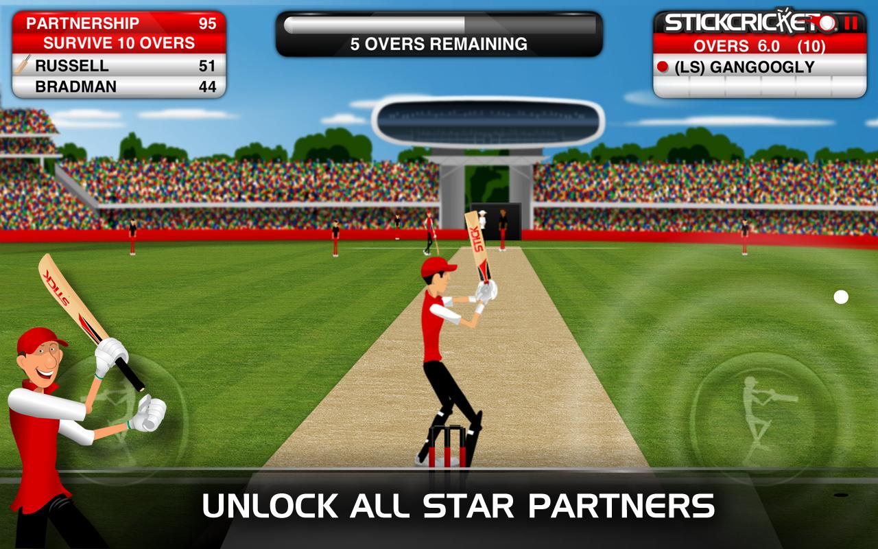 Stick Cricket astuce et triche
