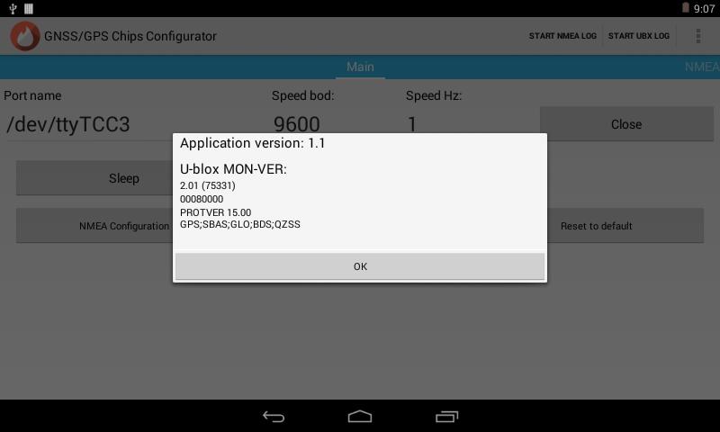 U-blox GNSS/GPS Chips Configurator 1 1 8 1 APK Download