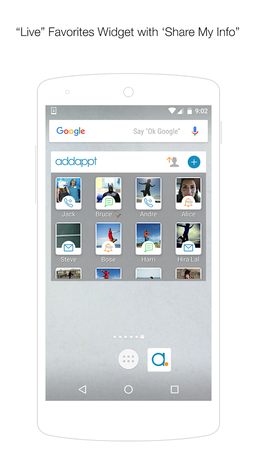 addappt: up-to-date contacts 2 6 APK Download - Android Social Apps
