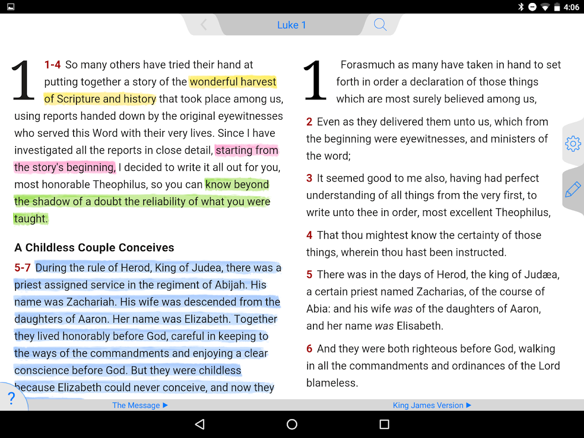 Message bible 7124 apk download android books reference apps message bible 7124 screenshot 21 fandeluxe Image collections