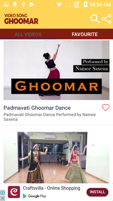 Ghoomar Song Videos 1 6 8 APK Download - Android
