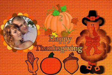 Thanksgiving Photo Frames 1.0 screenshot 1