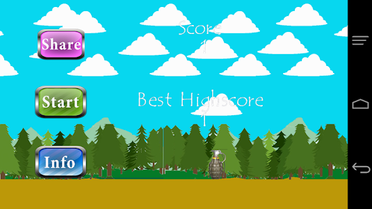 Cute Commando in The Forest 1.0 screenshot 3