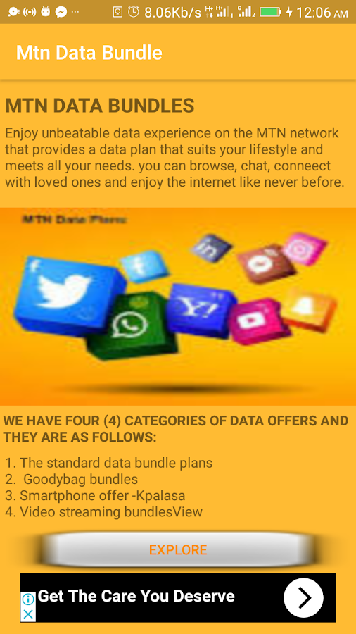 data bundles codes 1 1 APK Download - Android Books & Reference Apps