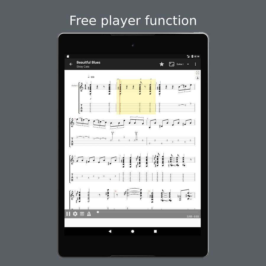 Guitartab Tabs And Chords 267 Apk Download Android Music