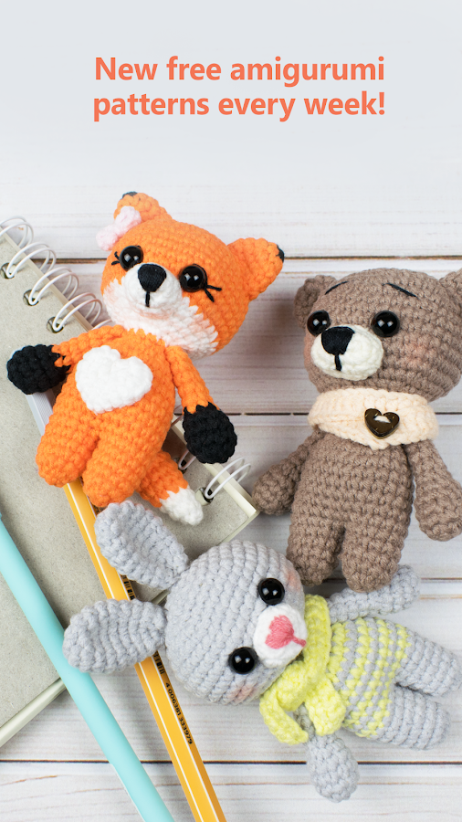 Amigurumi Today: free patterns & crochet tutorials 2 1 1 APK