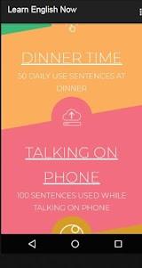 English Daily Conversation & Daily use sentences 1.5 screenshot 7