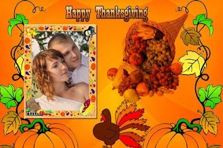 Thanksgiving Photo Frames 1.0 screenshot 2