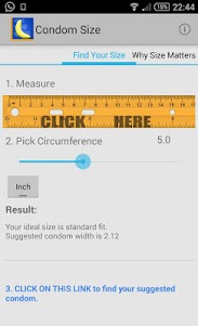 Condom Size 1.4 screenshot 1