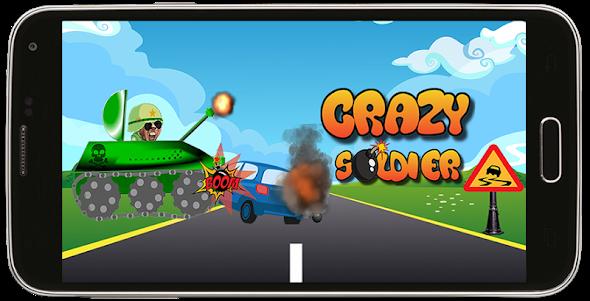 RACING CRAZY SOLDIER ADVENTURE 2.0 screenshot 2
