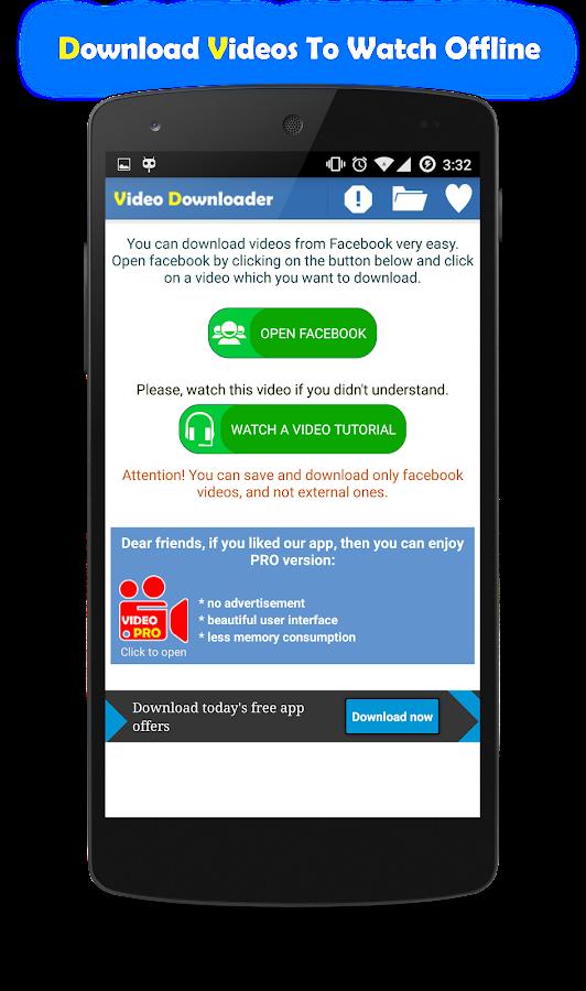 Fast Facebook Video Downloader 1 4 1 APK Download - Android Social Apps