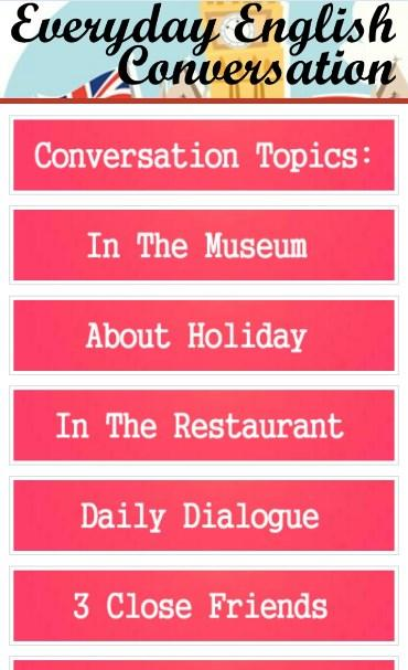 Everyday English Conversation 1 0 APK Download - Android
