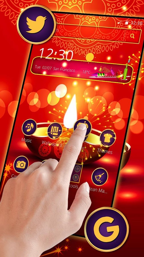 Happy Diwali Mobile Theme 1 1 3 APK Download - Android