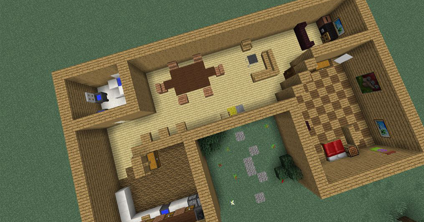 How To Build A Cool House In Minecraft Step By Step