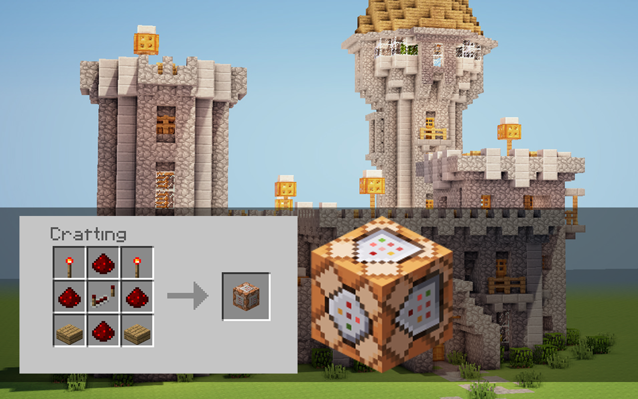 get command block in minecraft