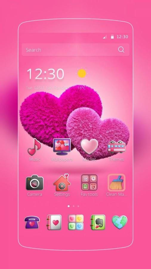 pink hearts theme - Ataum berglauf-verband com