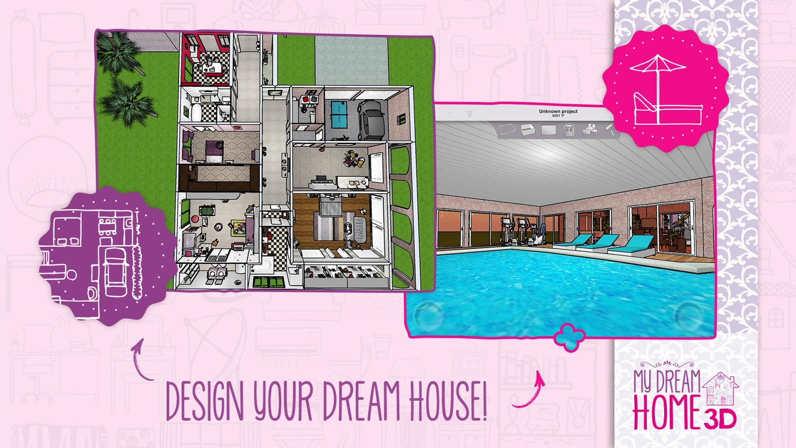 Home design 3d my dream home 3 1 5 screenshot 1