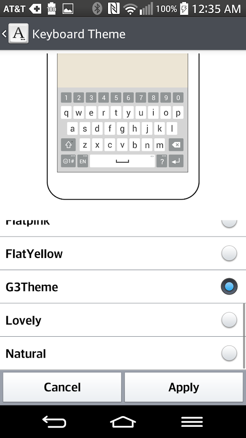 G3 Keyboard LG THEME 2 0 14 APK Download - Android Personalization Apps