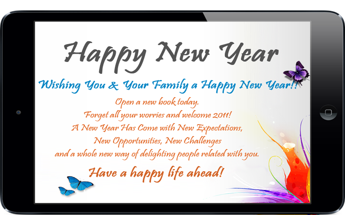 Happy New Year Greetings 12 Apk Download Android Lifestyle Apps