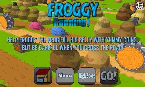 Froggy Run 1.1 screenshot 3