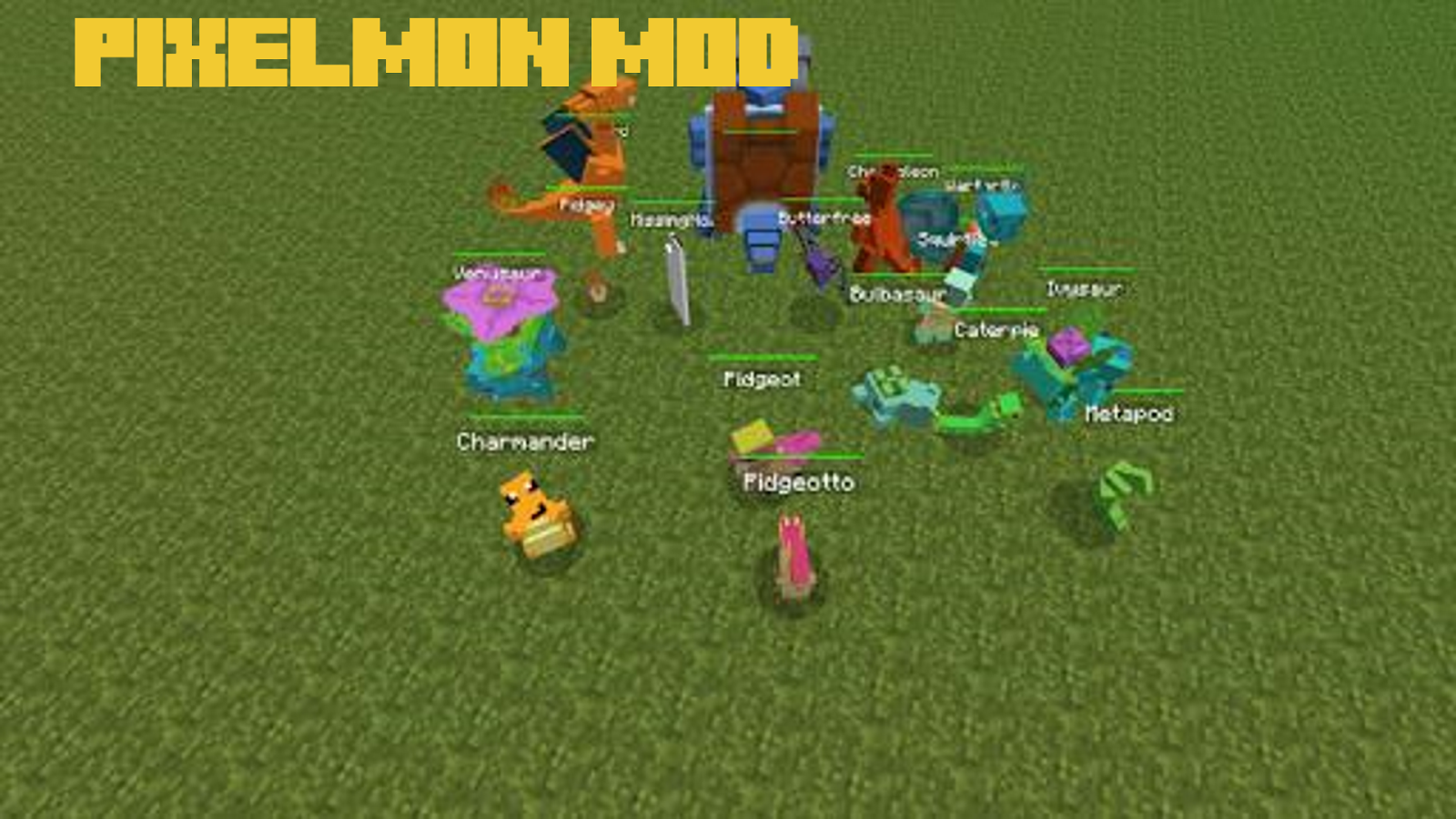 download pixelmon para minecraft pe