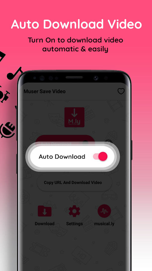 Muser download for musically Musesave, Tik tok app 1 0 0 APK