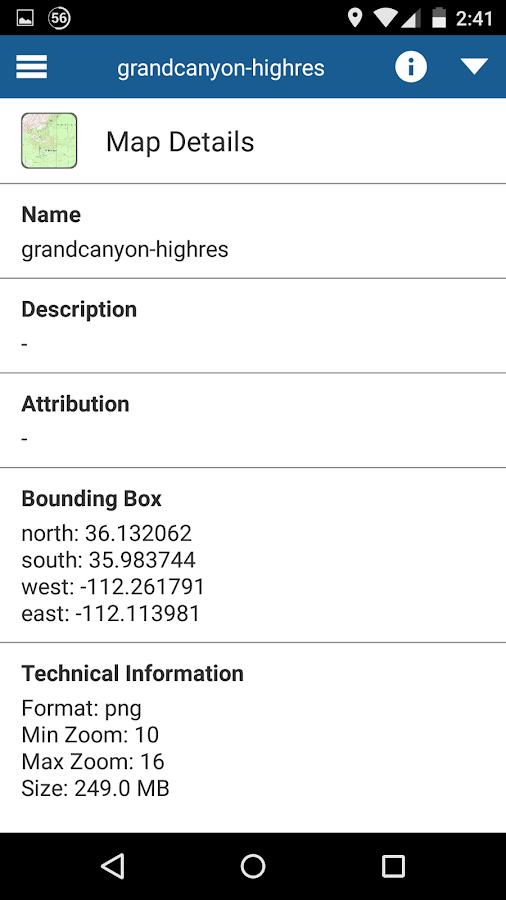 MapTiler GPS MBTiles Viewer 1 0 0 APK Download - Android Travel