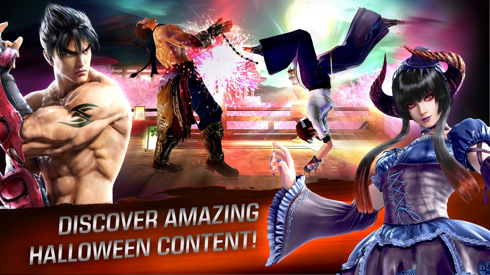 TEKKEN™ 1 5 APK + OBB (Data File) Download - Android Action Games
