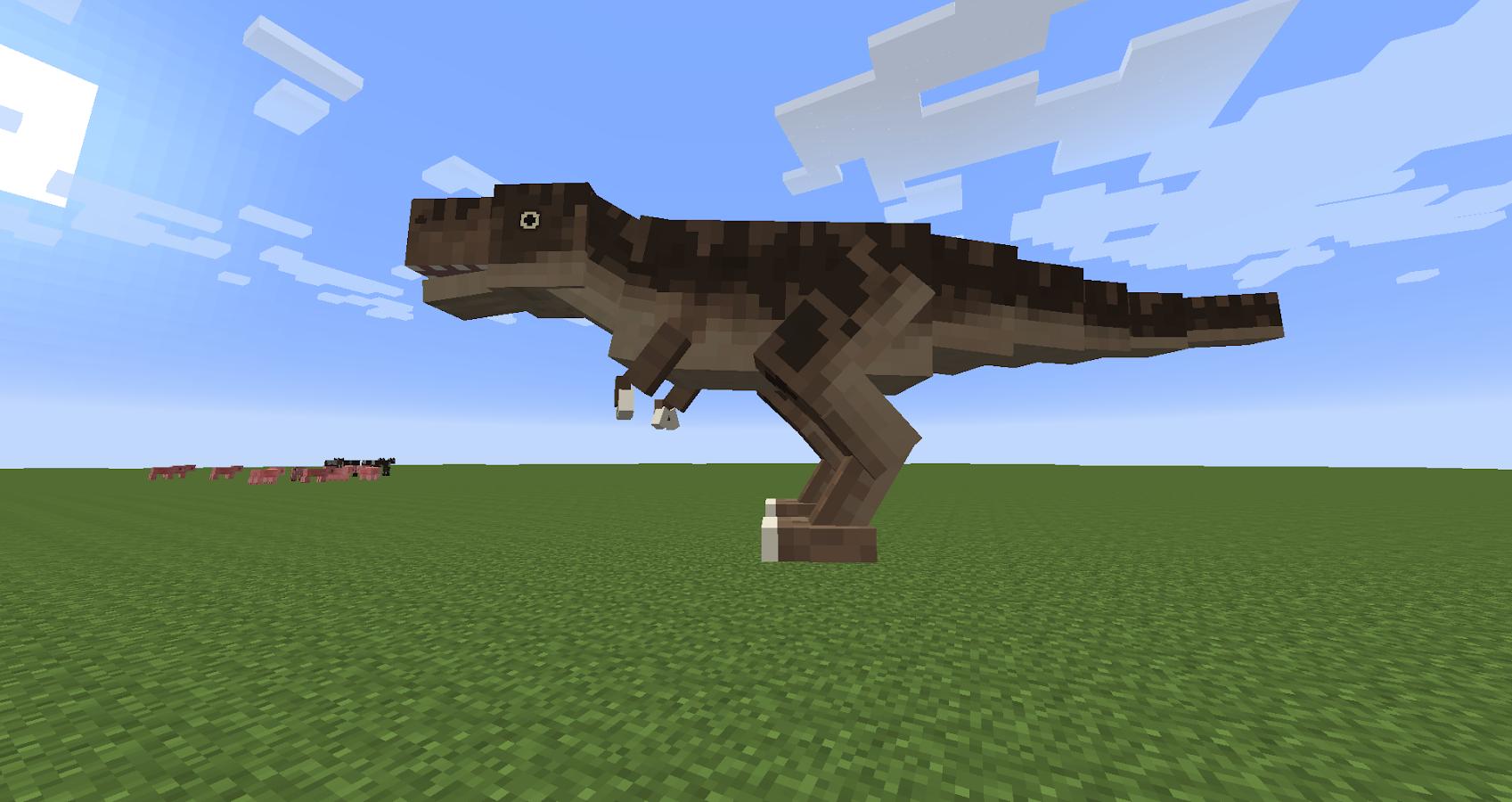 мод на динозавров в майнкрафт 1.7.2 #11