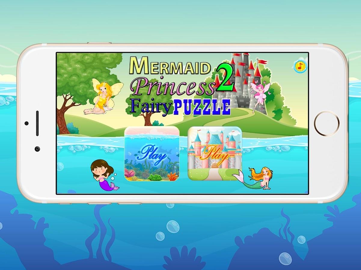 Mermaid & Princess Puzzle 2 0 APK Download Android
