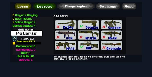 Combat Pixel Arena 3D - Fury Man 1.4 screenshot 5