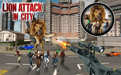 Monster Lion Attack 1.2 screenshot 1