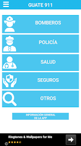 GUATE 911: Números de emergencia de Guatemala 4.0.0 screenshot 2
