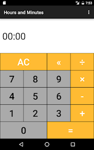 Hours & Minutes Calculator 1.3 screenshot 16