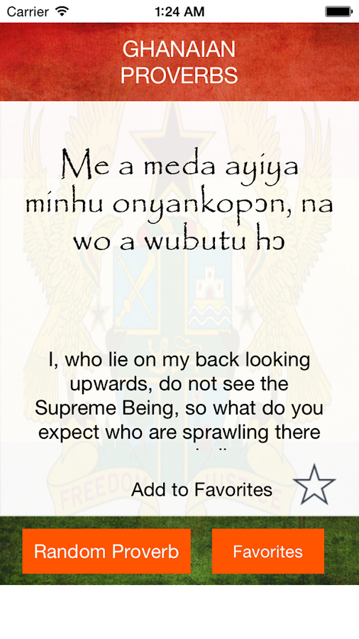 Twi Proverbs 1 2 APK Download - Android Books & Reference Apps