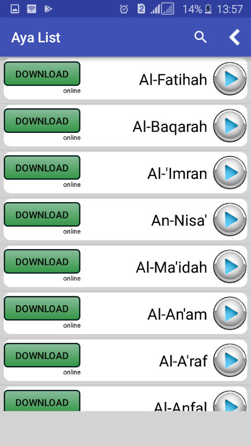Quran Downloader - MP3 1 1 0 APK Download - Android