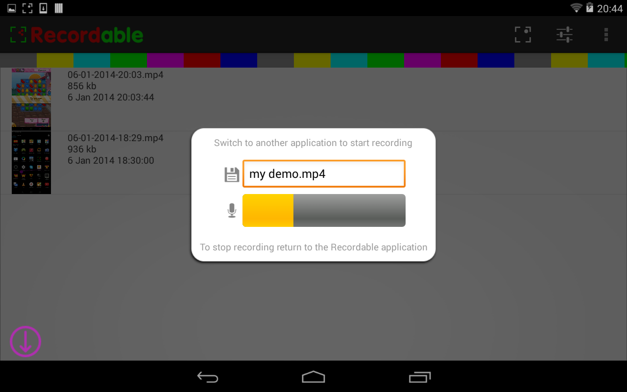 screen recorder license 3.5 apk