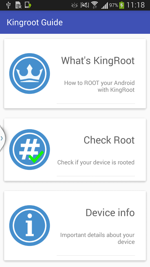 King Root Android One Click 1 05 APK Download - Android Productivity