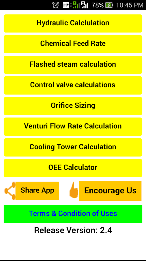 Field Process Calculator 2 7 2 APK Download - Android Productivity Apps