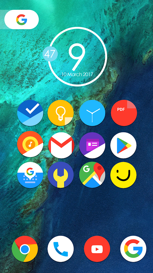 Pixel Nougat - Icon Pack 1 6 2 APK Download - Android