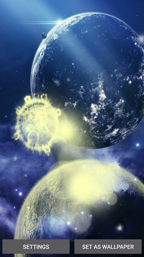Planets Live Wallpaper 55 Screenshot 5
