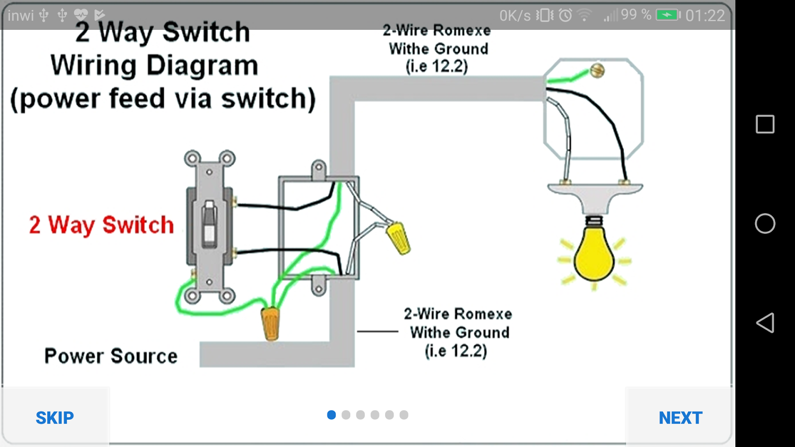 Electrical Wiring Diagram 10 Apk Download Android Education Apps Dpdt Relay In Multisim Screenshot 4