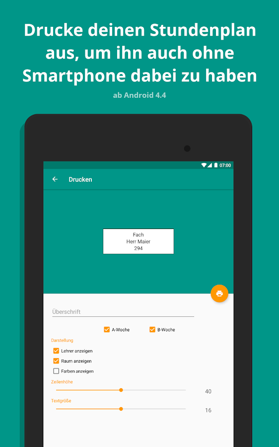 Stundenplan 1.9.5 APK Download - Android Education Apps