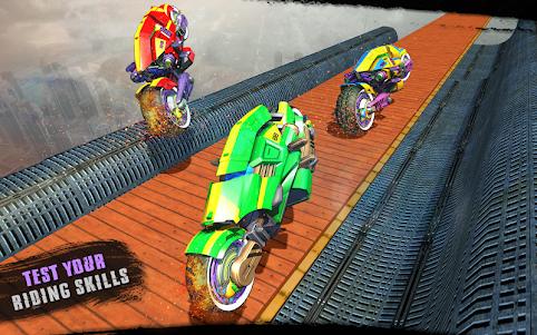 Impossible Moto Bike Tracks Robot Transformation 1.0 screenshot 11