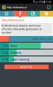 Mijn Referendum 1.2.0 screenshot 2
